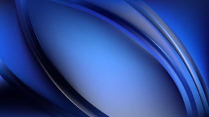 Royal Blue Abstract Wavy Background