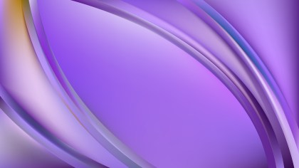 Glowing Violet Wave Background