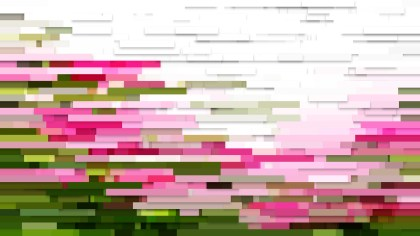 Pink and Green Horizontal Lines and Stripes Background