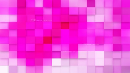 Fuchsia Square Mosaic Background Design