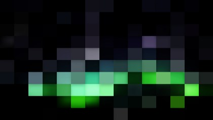 Abstract Green and Black Square Mosaic Background Illustrator