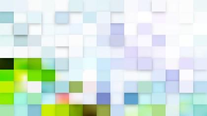 Light Color Square Mosaic Tile Background Vector Art