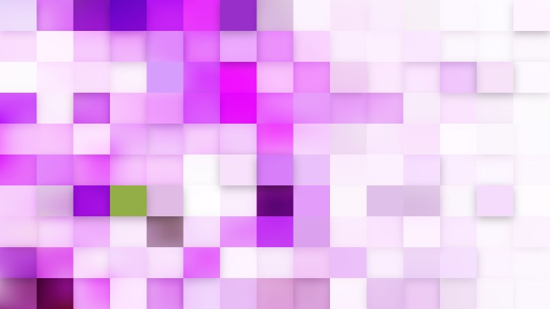 Abstract Light Purple Square Mosaic Background