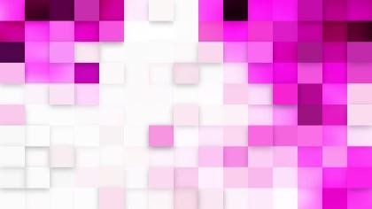Abstract Light Purple Geometric Mosaic Square Background