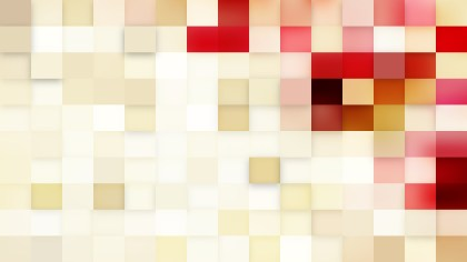 Pink and Beige Square Mosaic Background Graphic
