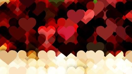 Dark Color Valentine Background