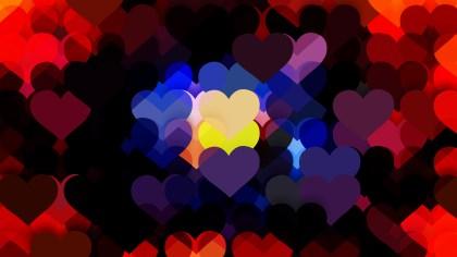 Dark Color Love Background