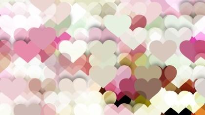 Light Color Valentine Background Design