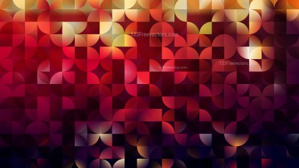 Dark Color Quarter Circles Background Design
