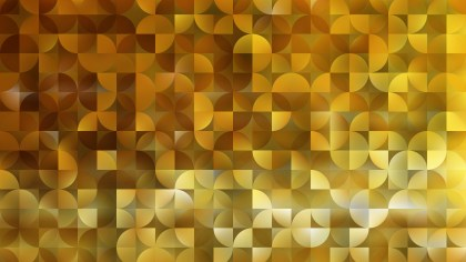 Abstract Gold Quarter Circles Background Vector Art