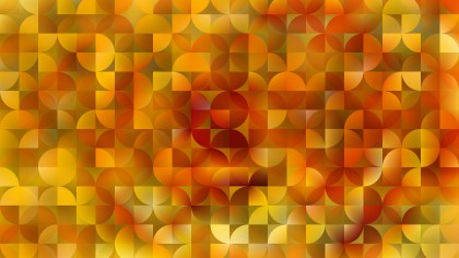 Orange Abstract Quarter Circles Background Image