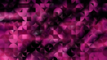 Abstract Purple and Black Quarter Circles Background Vector Art