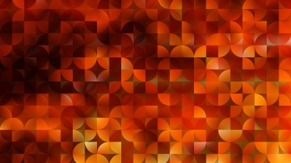 Abstract Red and Yellow Quarter Circles Background