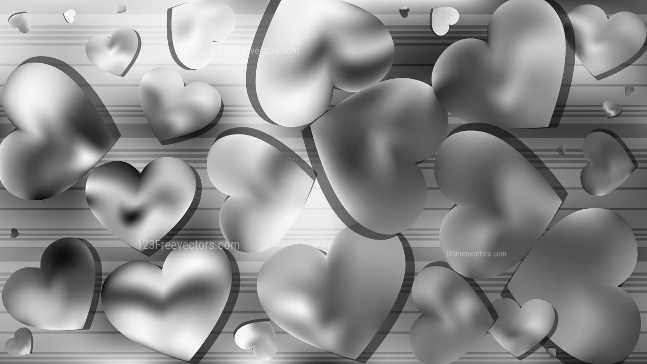 109525 grey heart