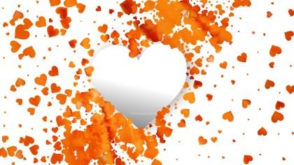 Light Orange Valentines Background