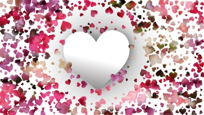 Pink and White Love Background Image