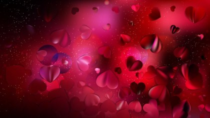 Red and Black Valentine Background