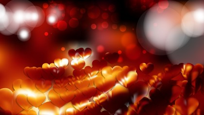 Red and Black Romance Background
