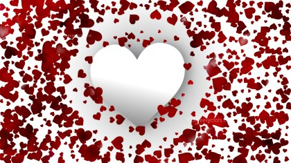 Red and White Valentine Background