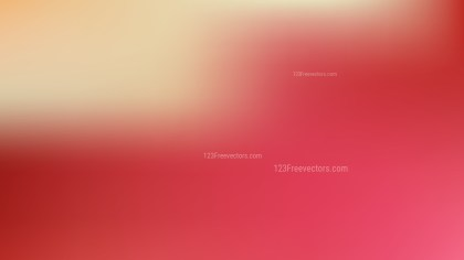 Beige and Red Gaussian Blur Background