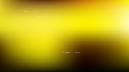 Black and Yellow Presentation Background