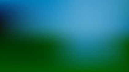 Blue and Green Blur Photo Wallpaper