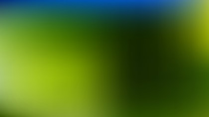 Blue and Green Corporate Presentation Background Vector Image