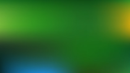 Blue and Green PowerPoint Slide Background Vector Illustration