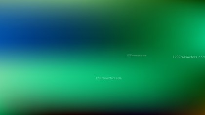 Blue and Green PowerPoint Background