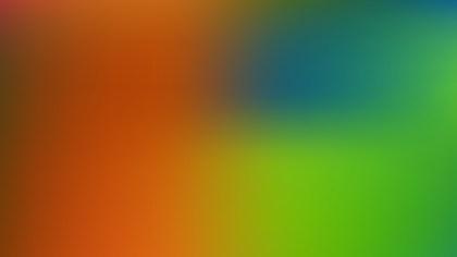 Colorful Blur Photo Wallpaper Vector