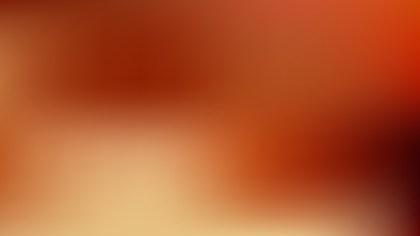 Dark Orange Blurry Background Vector Illustration