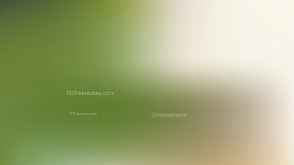Green and Beige PPT Background Vector Image