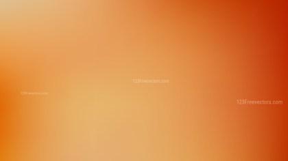 Orange Blur Background Design