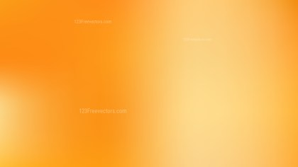 Orange PPT Background