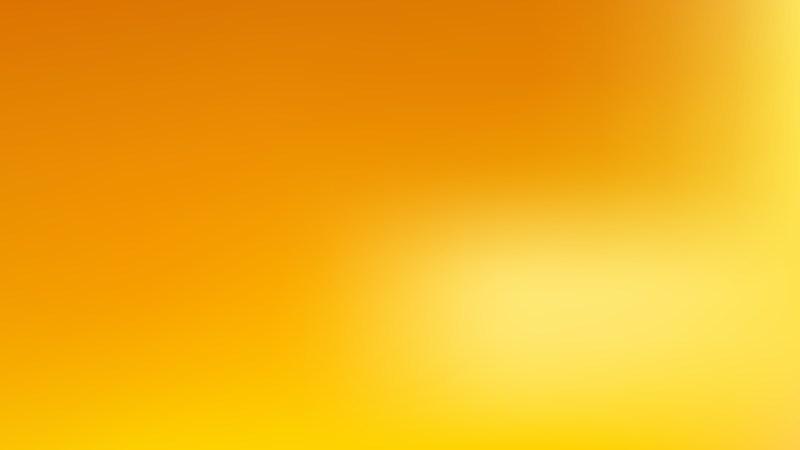 Orange Blur Background Vector