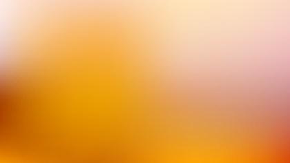 Orange Corporate PowerPoint Background Illustration