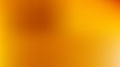 Orange PowerPoint Presentation Background Vector Graphic