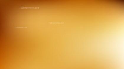 Orange Blurred Background
