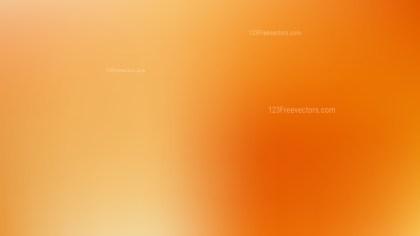 Orange Corporate PPT Background Vector