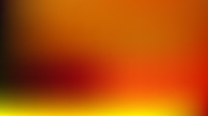 Orange and Black PPT Background