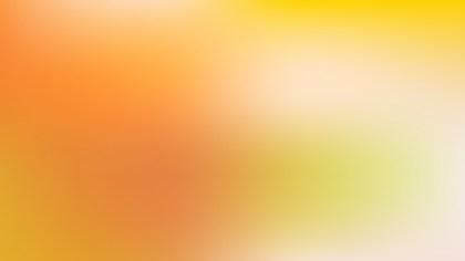 Orange and Green PowerPoint Slide Background