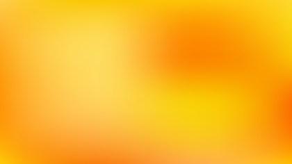 Orange and Yellow Corporate Presentation Background
