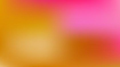 Pink and Yellow PowerPoint Slide Background Vector Illustration