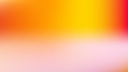 Pink and Yellow Blur Background Design