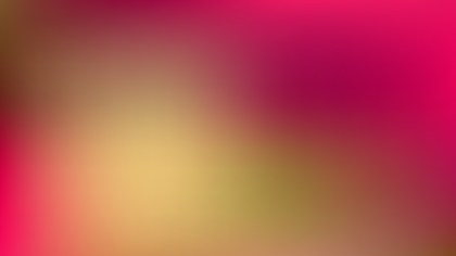 Pink and Yellow Blurry Background Vector Art