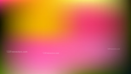 Pink and Yellow Professional PowerPoint Background Illustrator