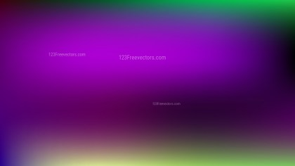 Purple and Green PPT Background Illustration