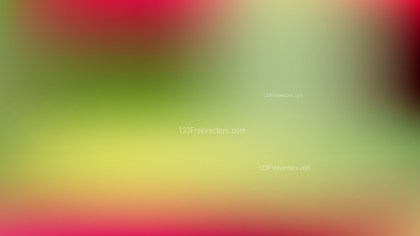 Red and Green Blur Background Graphic