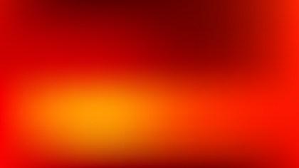 Red and Orange PowerPoint Slide Background Illustration