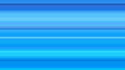 Blue Horizontal Stripes Background